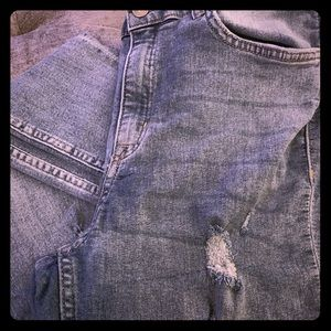 H&M Divided Distressed Skinny Jeans